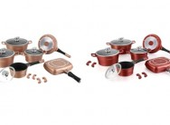 Royalty Line 15-Piece Marble Coating Cookware Set for R2 899 Including Delivery (78% Off)