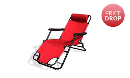 Red Beach Chair for R499 Including Delivery (44% Off)