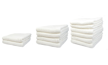 White Terry Luster Trousseau Royal Bath Towels from R649 Including Delivery (Up to 25% Off)