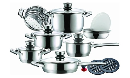 Leopard 16-Piece Cookware Set for R1 149 Including Delivery (77% Off)