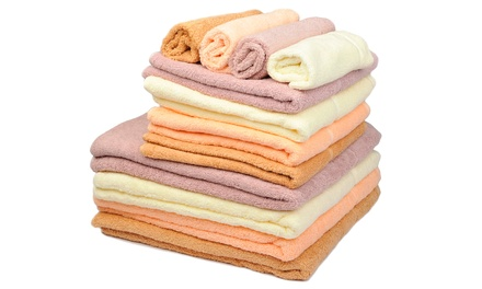 Terry Luster Bath Towel, Hand Towel and Facecloth Set for R349 Including Delivery (26% Off)