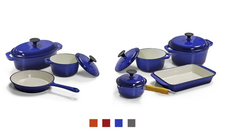 Cast Iron Pot Set from R899 Including Delivery (Up to 57% Off)