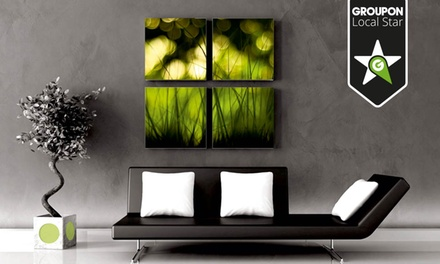 Various-Sized Canvas Prints Stretched Over a Wooden Frame from R340 with Wild Art (Up to 80% Off)