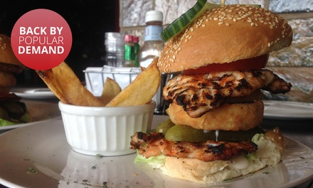 Choice of Legendary Burgers from R99 for Two at Santis (Up to 51% Off)
