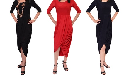 Ladies Cross-Over Dress for R249 Including Delivery (38% Off)
