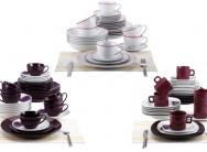 Blaumann 30-Piece Stoneware Ceramic Dinner Set for R749 Including Delivery (79% Off)