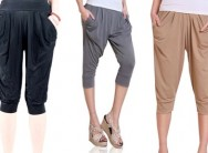 Elemental Lifestyle Ladies Three-Quarter Harem Pants for R129 Including Delivery (74% Off)