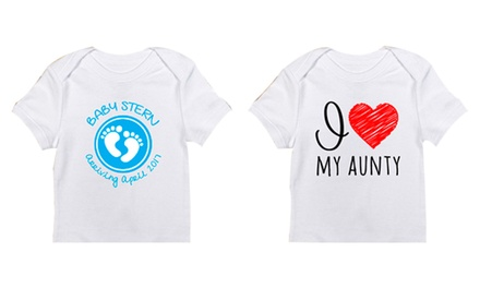 Personalised T-Shirts for R299 with CandyWrap (25% Off)