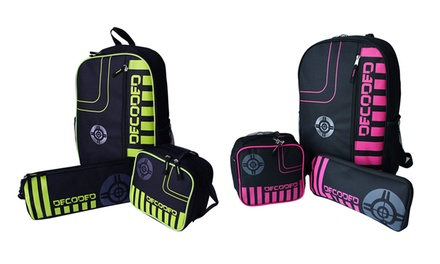 Eco Decoded Three-in-One Student Backpack Set for R349 Including Delivery