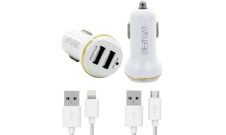 Digitway Android or iOS USB Car Charger for R169 Including Delivery (58% Off)