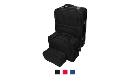 Eva Three-Piece Luggage Set for R689 Including Delivery