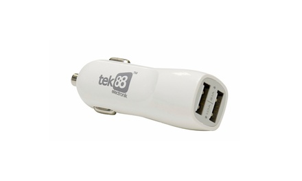 Tek88 RapidCharge Two-Port Car Charger for R199 Including Delivery (20% Off)