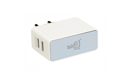 Tek88 RapidCharge Two-Port Wall Charger for R199 Including Delivery (20% Off)