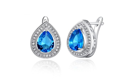 Pear-Shaped Silver-Plated Earrings for R299 Including Delivery (25% Off)