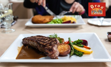 Choice of 300g Rump or Sirloin Steak from R149 for Two at Dros Willowbridge (Up to 43% Off)