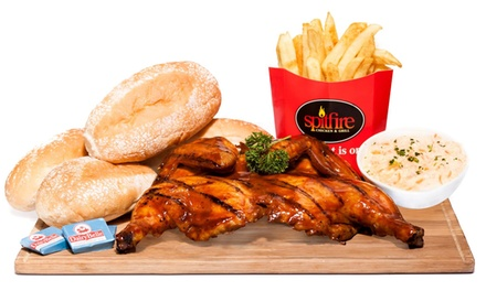 Full Grilled Chicken Family Meal from R129 at Spitfire (Up to 34% Off)