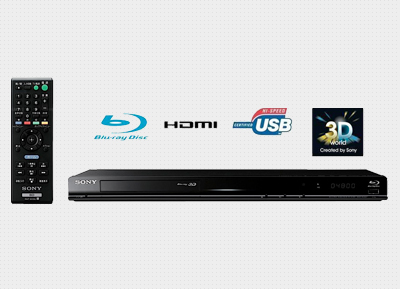 SONY - 3D Blu-ray Disc Player