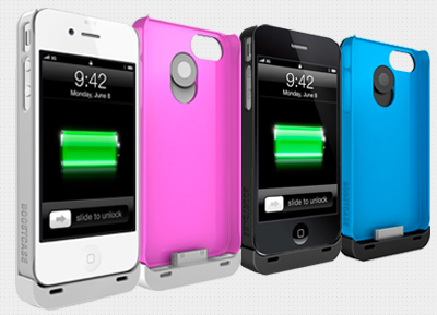 BoostCase - Protective Case & Extended Battery for iPhone 4/4S