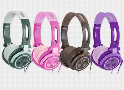 iFROGZ - Earpollution CS40 Chromatone With Mic Overear Headphones