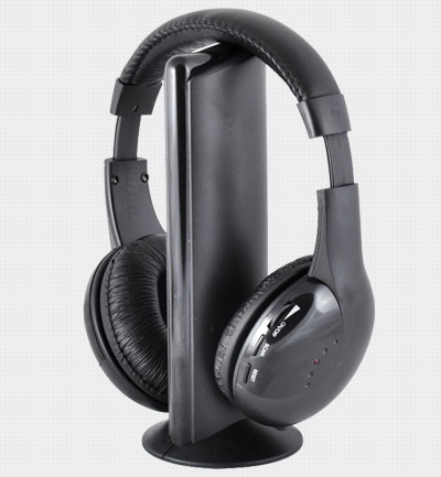 MH2001 5-in-1 Hi-Fi S-XBS Wireless Headphones