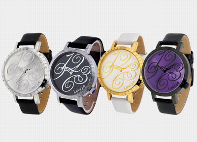 LEVI'S - Classic Leather Strap Ladies Watch