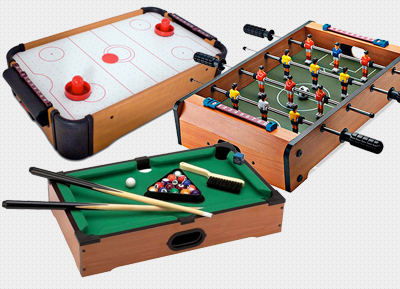 Snooker Or Football Or Air Hockey Table Games