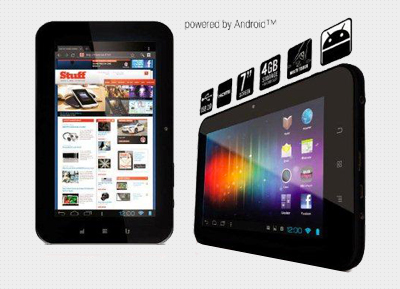 "EEZY TOUCH - 7"" Android 4.0 Multitouch Tablet"