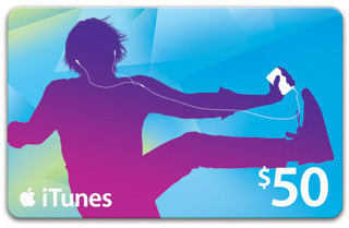 $50 Worldwide Authentic Apple iTunes Gift Card Voucher Certificate