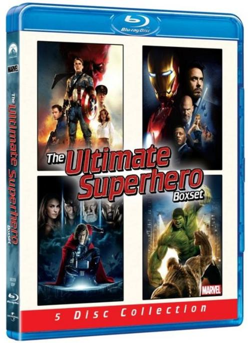 The Ultimate Superhero Boxset