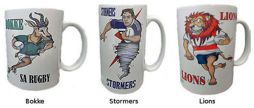 Rugby True Supporter Mugs