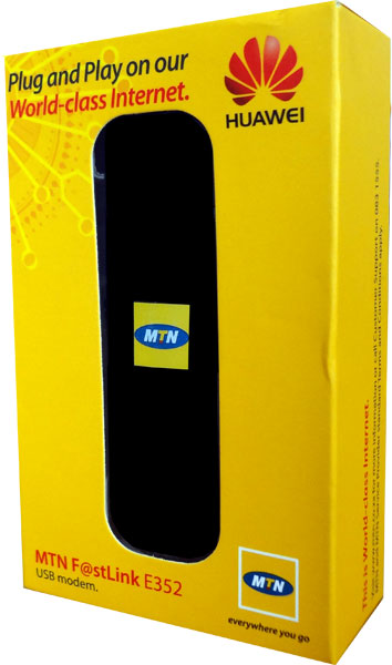 MTN Huawei E352 14.4Mbps 3G/ HSPA USB Modem