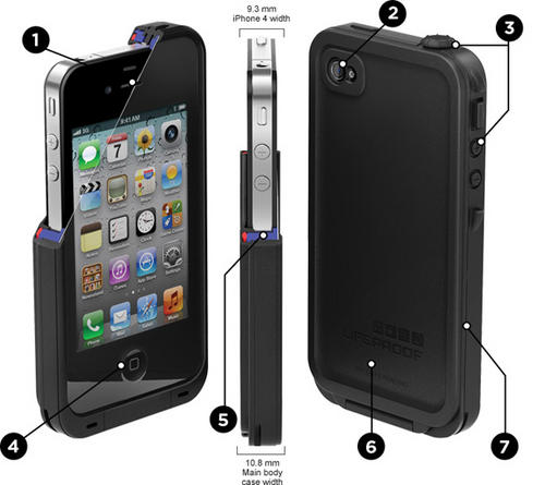 LifeProof Case for iPhone 4S/4