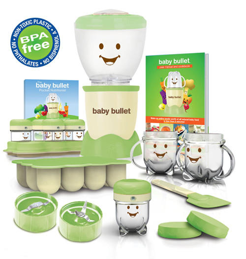 Magic Bullet - The complete baby food making system