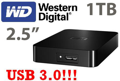 Western Digital Elements 1TB 2.5