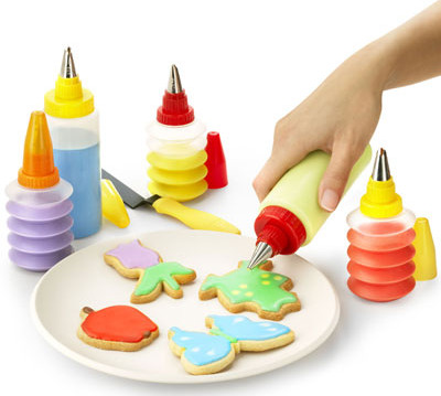 Cookie & Cupcake Decorating Kit - Set of 5