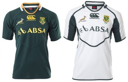 Springbok Mens Rugby Home/Away Jersey