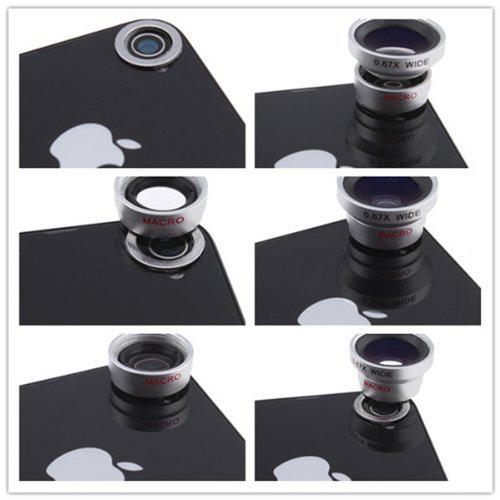 Smartphone/Tablet Lens Kit - Free Delivery