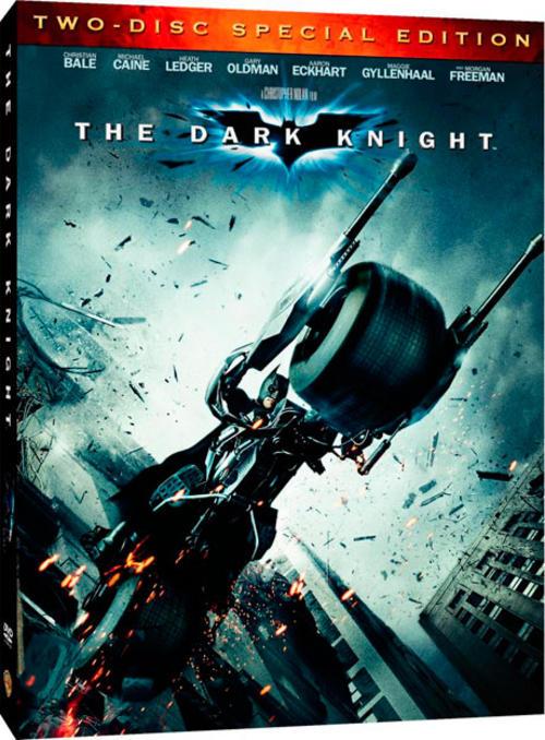 The Dark Knight (2 Disc DVD) + Batpod