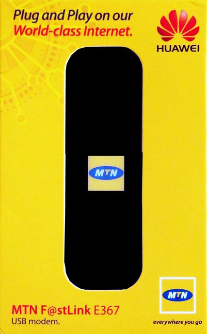 MTN Huawei E367 21.6Mbps USB Modem