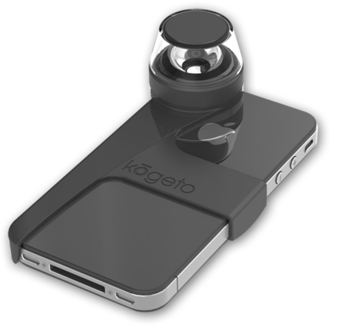 Kogeto Dot Lens for iPhone 4/4S - Free Shipping