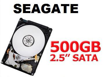 """Seagate Momentus 500GB 2.5"""" Laptop Hard Drive"""
