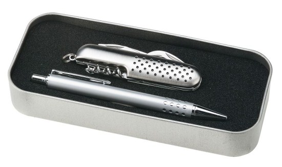 Pen & Pocket Knife Gift Set + Free Shipping