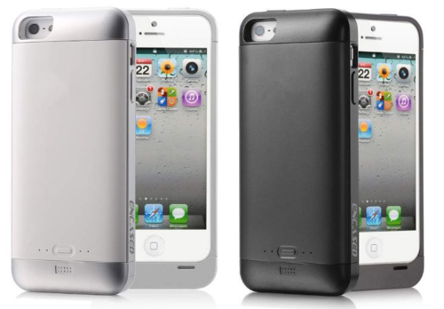 iPhone 5 Extended Battery Case | Black/White