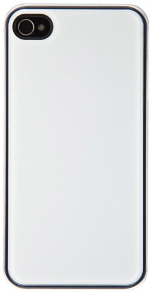 2 x QDOS Smoothies for iPhone 5/S | White & Metallic