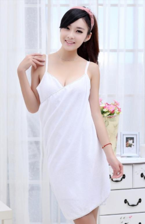 Convertible Bath Towel Dress