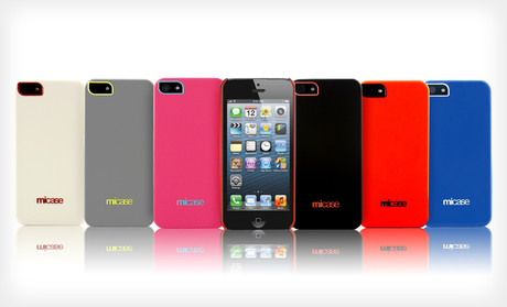 iPhone 5 Original MiCase Ultra Lightweight Shell Case + Screen Protector