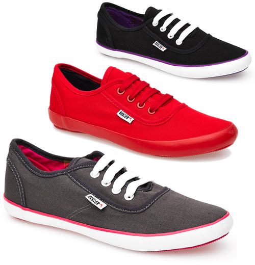 Ladies Soviet Low-Cut Lace-Up Sneakers (LSV214)