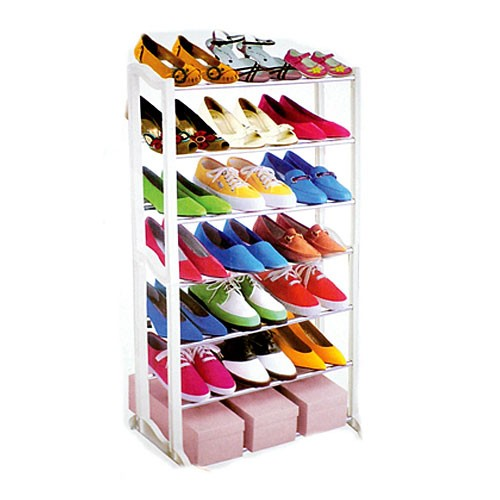 7 Tier Shoe Rack | Fine Living - SAME DAY SHIPPING