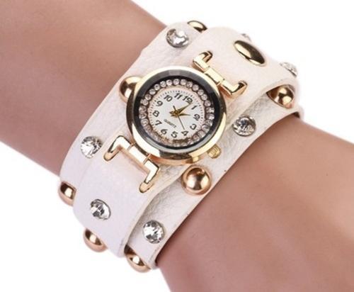 Crystal Stud Wrap Bracelet