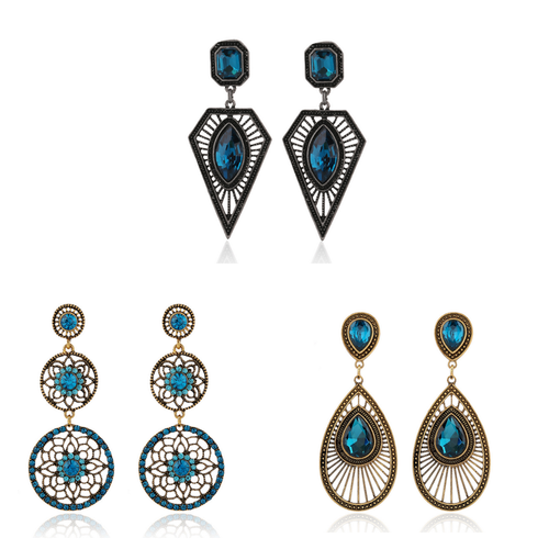 Gorgeous Earring Sets of 3